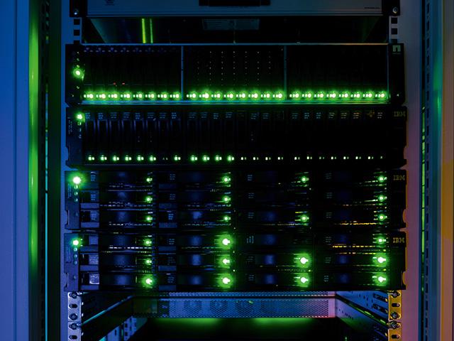 Abbildung eines Servers für das Hosting bei TMT