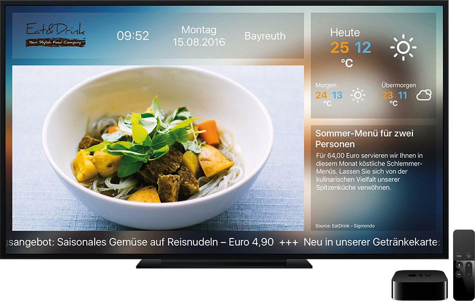 Sigmondo Fernsehbeispiel Deutsch