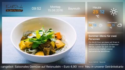Screenshot der Sigmondo App