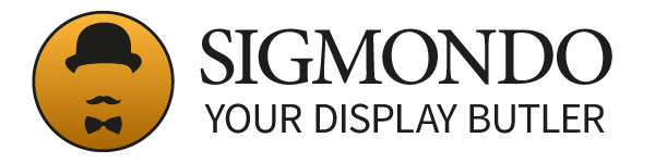 Logo Sigmondo - Your Display Butler
