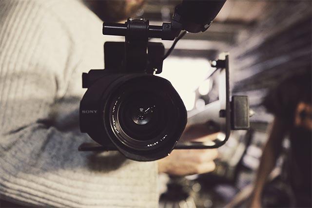 Abbildung einer Kamera für unsere TV Produktionen