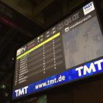 Digital Signage medi bayreuth SiG5 Monitor in Sporthalle