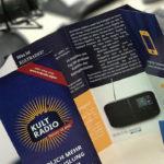 Folder Visitenkarten Kultradio