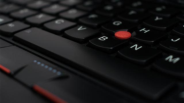Nahaufnahme einer Tastatur