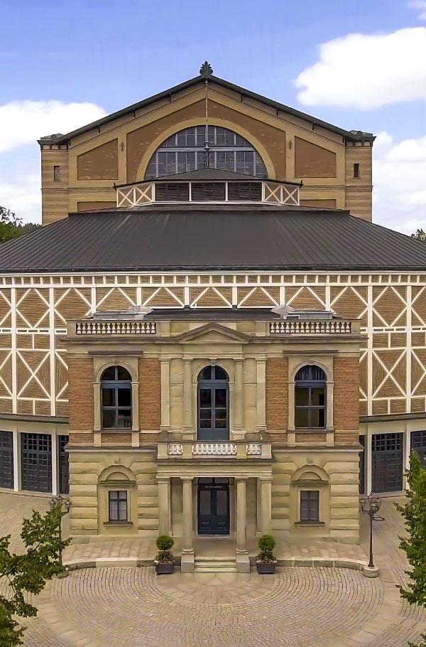 Festpielhaus Bayreuth Ausschnitt
