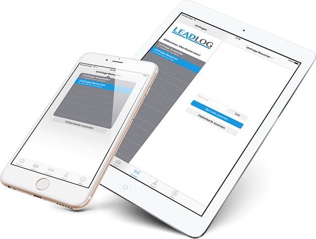 Die LeadLog-App