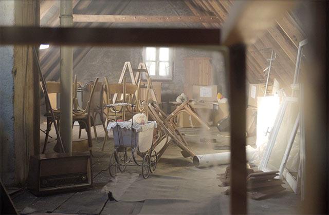 Dachboden im Original-Stil