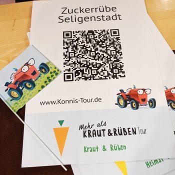 Zuckerrübe Seligenstadt - Schilder dieser Art sind nun überall im Würzburger Norden zu finden
