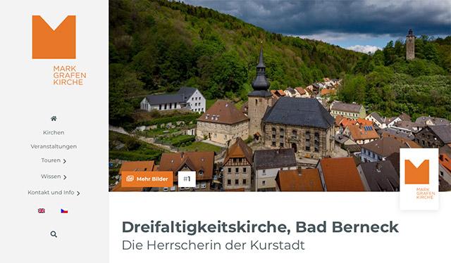 Webportal Markgrafenkirchen Ausgabe der Kirchen im Detail