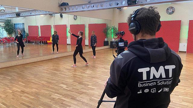 TMT Videodreh bei der Tanzschule Jahn